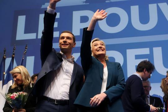 Liste RN (ex-FN) aux européennes: les 79candidats de Marine Le Pen, combien d'élus?