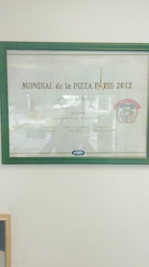 Restaurant : Roma Pizza  - Diplome du mondial de la pizza -