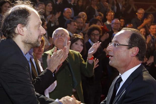Denis Podalydès, fervent défenseur de François Hollande