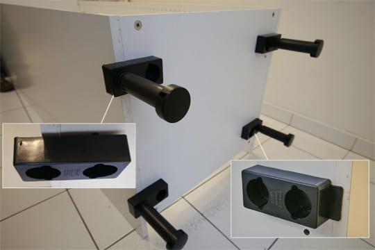 fixation des pieds. Black Bedroom Furniture Sets. Home Design Ideas