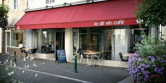 Entrée : Dit Vin Café  - Facade dit vin café -