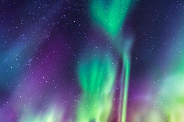 L'intensité des aurores boréales de Suède