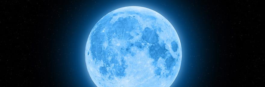 Une pleine lune bleue rare à ne pas rater ce samedi