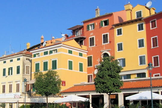 Les façades colorées de Rovinj