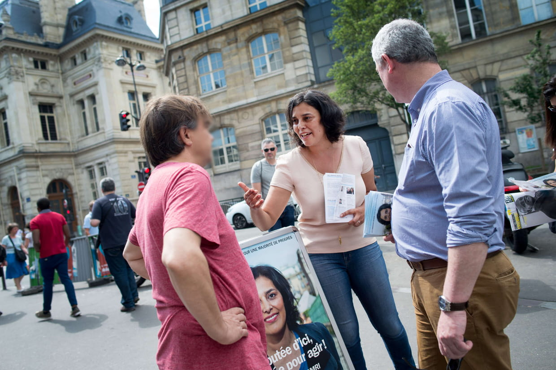 El Khomri devancée par Bournazel à Paris — Législatives