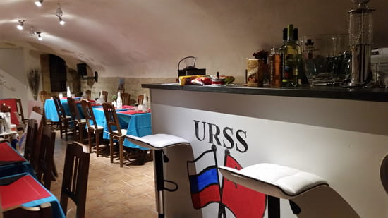 Restaurant : kremlin  - Salle du bas -