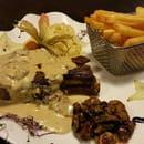 Plat : Le Somail  - Côte de Veau poêlée sauce aux cèpes  -