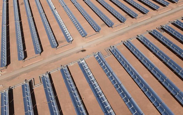 "La ""future plus grande"" centrale solaire du monde"
