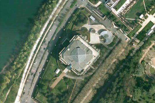 Le siège d'Interpol