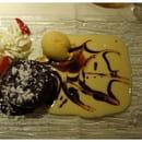 La Table de Marie  - Fondant au chocolat et piments d' Espelette -