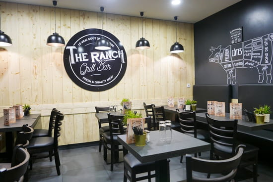 Restaurant : The Ranch  - the ranch restaurant bar à viandes hallal bio Colombes -   © The Ranch