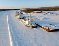 Sur les routes de glaces du Grand Nord canadien