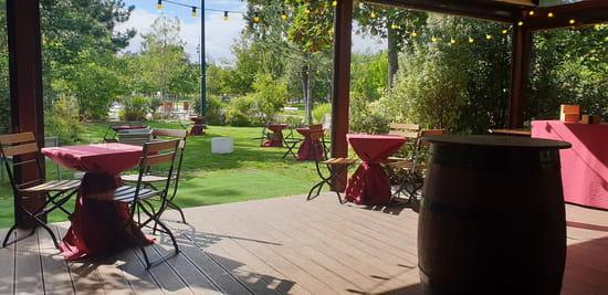 Restaurant : La Terrasse du Jardin  - Terrasse restaurant -   © La Terrasse du Jardin