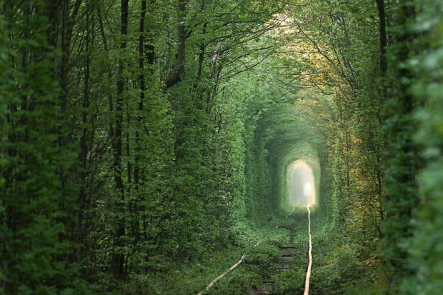 Le Tunnel of love en Ukraine