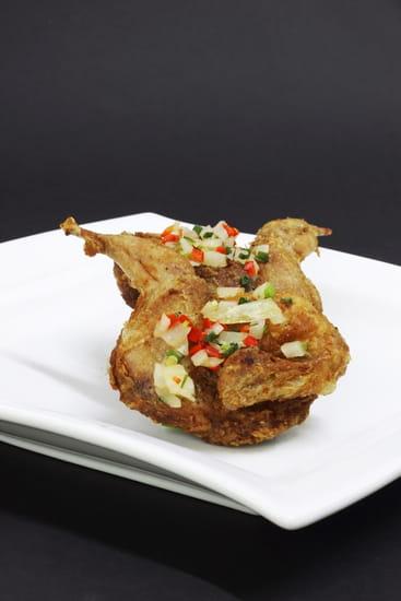 Huatian Chinagora  - Caille sel et poivre -