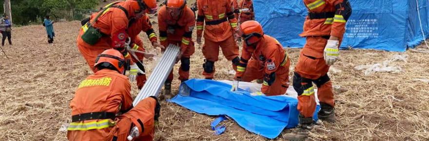 Chine: deux puissants séismes frappent les provinces du Qinghai et du Yunnan