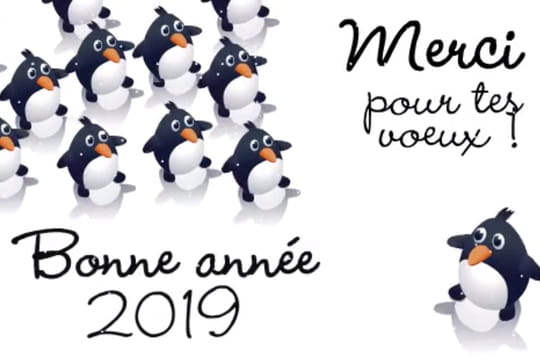 Bonne année 2019: textes, images, dessin... Des idées pour des voeux parfaits