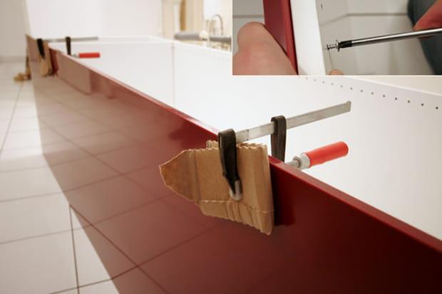 Plaque de finition - Monter une cuisine ikea ...