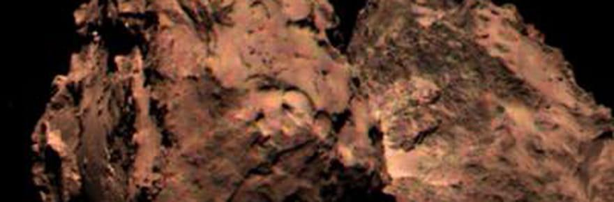 """Rosetta : Philae est sur une comète """"rouge poussérieux"""""""