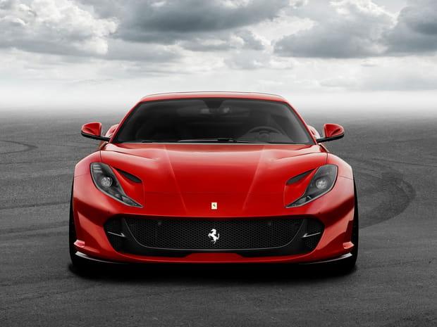 Ferrari 812Superfast: une bête de 800chevaux présentée à Genève