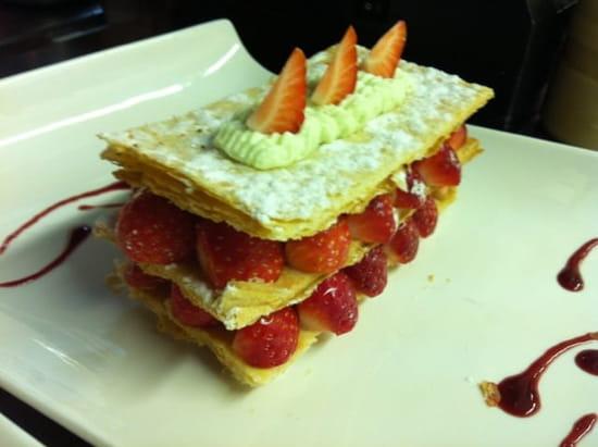 Le Bis Trot  - mille feuille aux fraises -