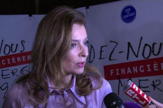 Valérie Trierweiler: elle aurait agressé physiquement Valérie deSenneville
