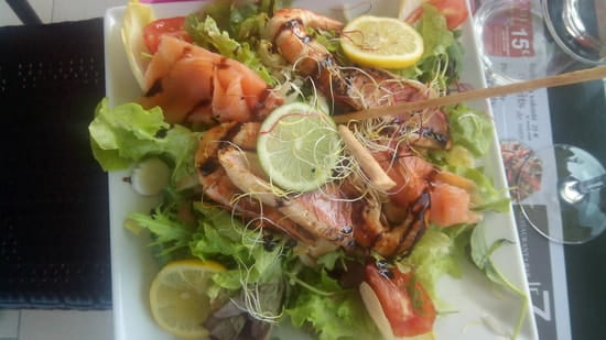 Plat : Le 7  - Salade oceane -