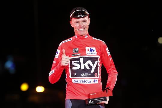 Vuelta: Froome vainqueur, le classement final