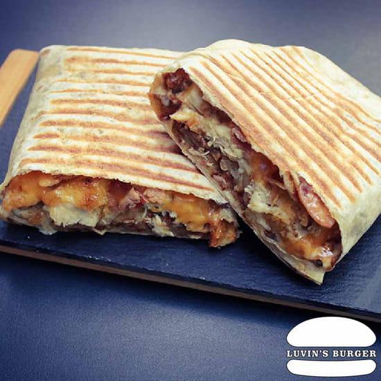 Plat : Luvin's Burger  - Tacos – Le Tacos Triple -   © Luvin's Burger