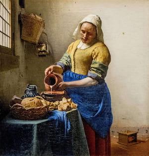 Vermeer de Delft - La laitière