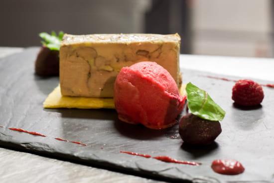 Entrée : A L'Ardoise  - foie gras maison -   © nc