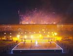 Pleins feux sur le chateau de Versailles