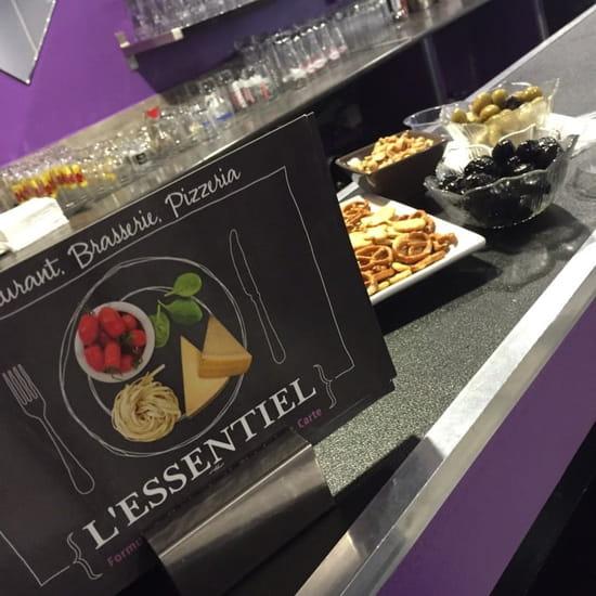 Restaurant : L'Essentiel  - Restaurant, Brasserie, Pizzeria -