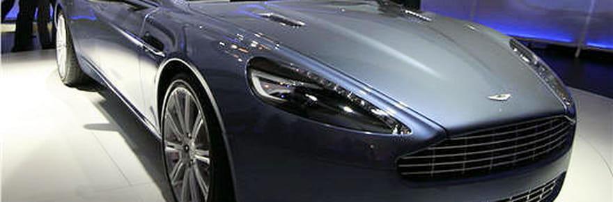 Francfort 2009 : à bord de l'Aston Martin Rapide