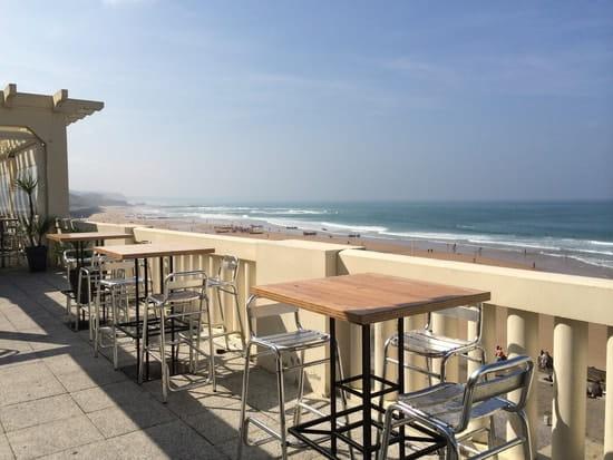 Le Bar de la Côte  - Vue du Rooftop sur la côte basque -