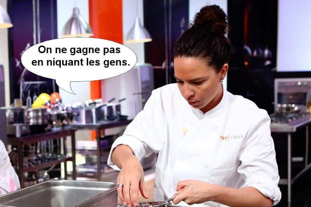 """Anne-Cécile: """"On ne gagne pas en niquant les gens"""""""