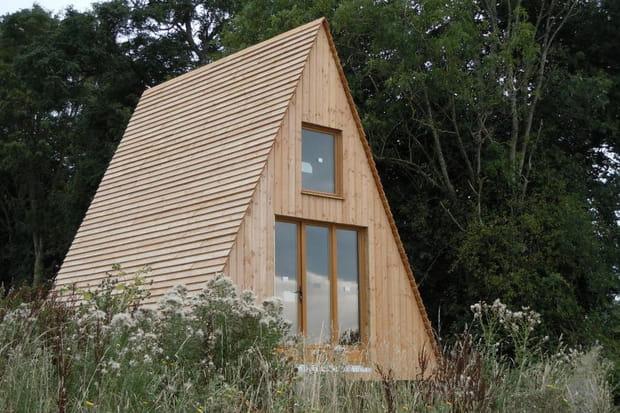 Le tipi en bois for Construction de petite maison