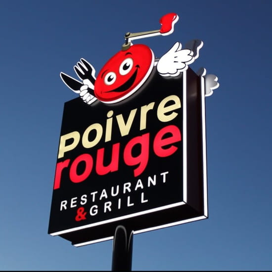Restaurant : Poivre Rouge  - Poivre Rouge Restaurant & Grill -