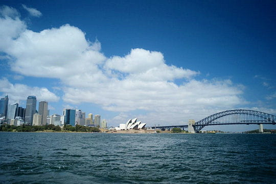 Départ de Sydney