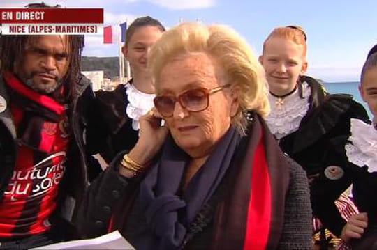 """Bernadette Chirac : """"Madame Le Pen a unvisage agréable"""""""