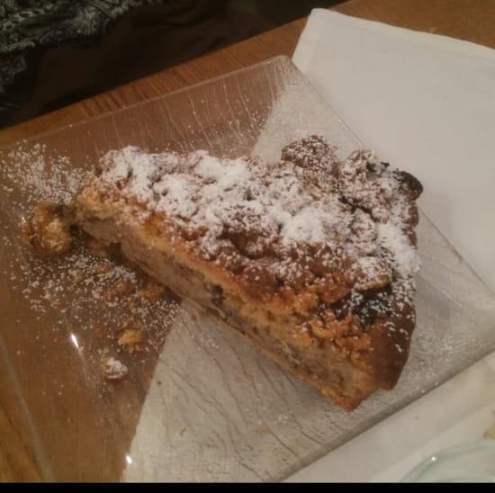 Dessert : Les Remparts  - Crumble Pommes Raisins -