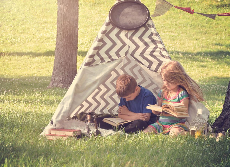 Tipi : comment fabriquer une tente d\'indien