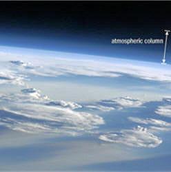la couche d'ozone s'étend entre 20 et 50 km d'altitude.