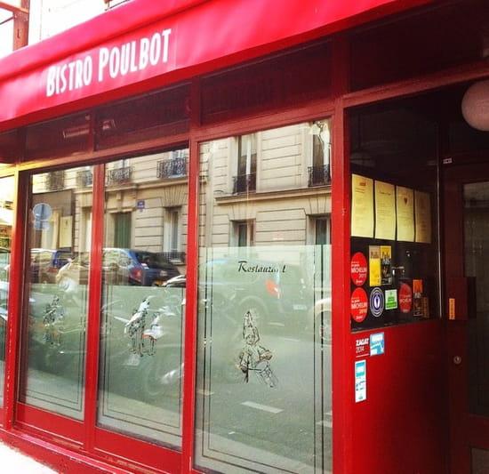 Restaurant : Bistro Poulbot  - Façade  -