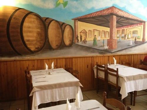 Restaurant de la Halle  - La salle -   © Patypen