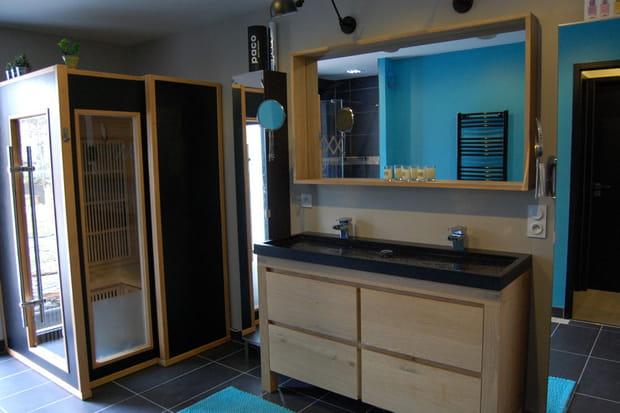 la salle de bain avec sauna - Salle De Bain Avec Sauna