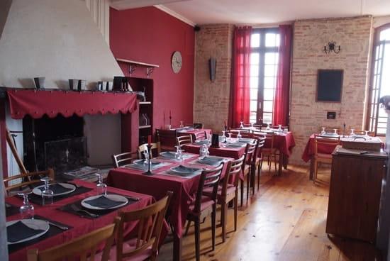 Auberge de Loubens  - Le Restaurant -   © Auberge de Loubens
