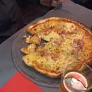 Plat : Pizzéria La Gondole  - Pizza la pontepiscopienne, excellente !!!  -