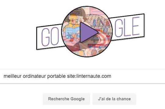 Avec Google, comment faire une recherche sur un site précis?
