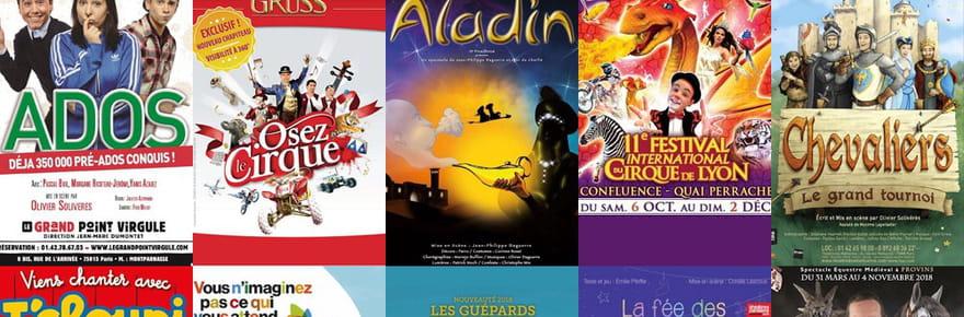 Toussaint: 15spectacles et sorties pour les enfants